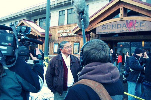 Crossing Arizona's Mike Wilson at Sundance premiere