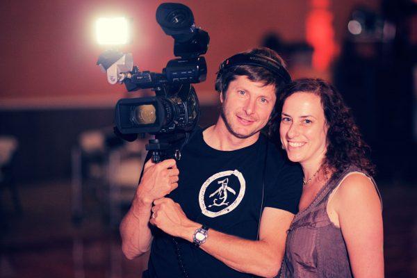 Guy Mossman & Ilana Trachtman on location in Texas