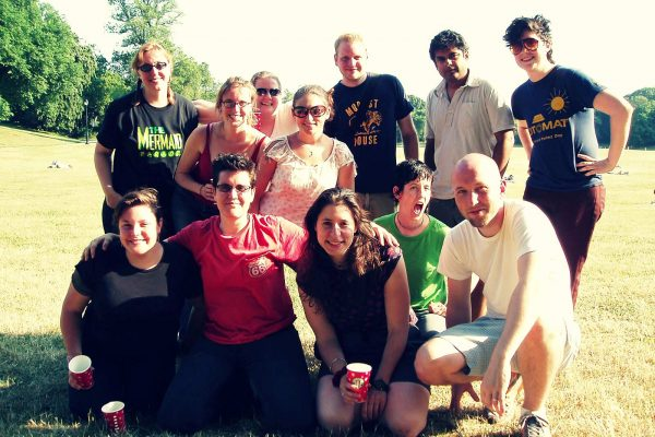 Rainlake team picnic in Prospect Park