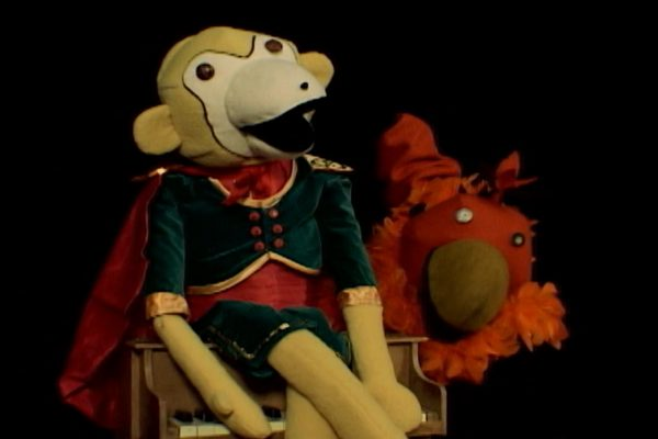 They Might Be Giants puppets in Follow My Voice